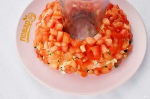 """Красный салат """"Пасхальный венок""""  - фото шаг 7"""