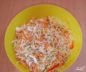 Салат из капусты и сладкого перца - фото шаг 4