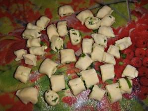 Суп с галушками в мультиварке - фото шаг 9