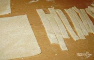Фасолевый суп с домашней лапшой - фото шаг 9