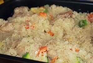 Рис с кабачками и курицей - фото шаг 4