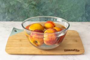 Компот из персиков без стерилизации