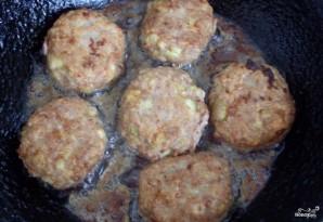 Мясные котлеты с кабачками - фото шаг 4