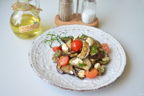 Сицилийский салат с баклажанами - фото шаг 6