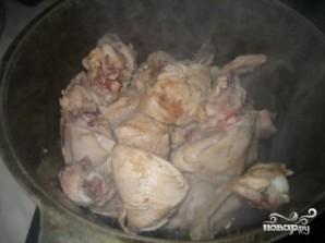 Подливка из курицы со сметаной - фото шаг 1