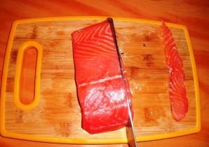 Осетинский пирог с семгой - фото шаг 1