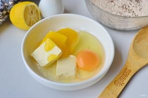 Гречневое печенье с семенами льна - фото шаг 3