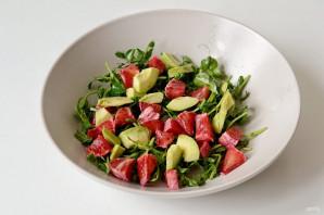 Салат с авокадо и имбирем - фото шаг 6