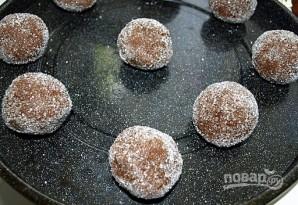 Печенье с карамелью в шоколаде - фото шаг 9