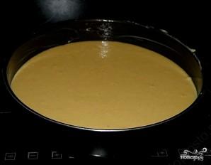 Постный бисквит на манке - фото шаг 4