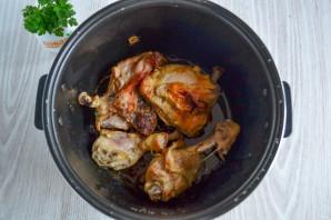 Курица в собственном соку в мультиварке - фото шаг 5