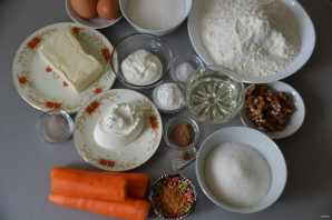 Самый простой морковный торт - фото шаг 1