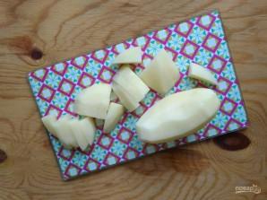 Картофель с томатной пастой - фото шаг 2