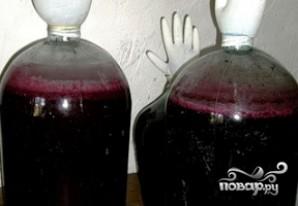 Вино из черной смородины - фото шаг 4