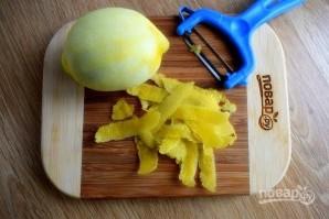 Лимонный кекс с глазурью - фото шаг 1