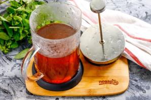 Имбирный чай с корицей - фото шаг 5