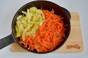 Грибной суп с рисом и яйцом - фото шаг 5