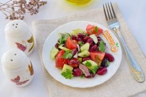 Иберийский салат из красной фасоли - фото шаг 3