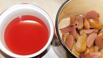 Кисель из яблок и черной смородины - фото шаг 1