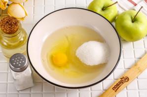 Песочный пирог с вареньем и яблоками - фото шаг 2