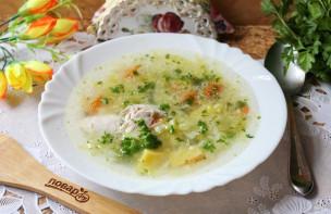 Куриный суп с зеленью - фото шаг 10