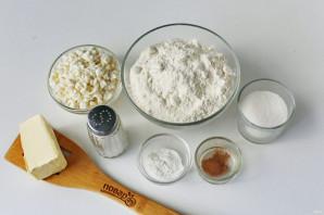 Творожное печенье на сковороде - фото шаг 1