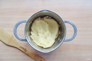 Торт из профитролей с заварным кремом - фото шаг 5