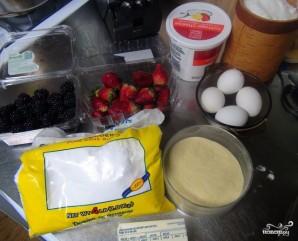Творожный пирог без теста - фото шаг 1