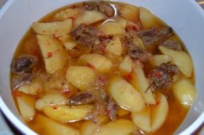 Жаркое из баранины с картофелем - фото шаг 9