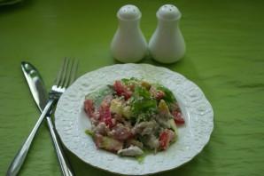Салат с фетаской и курицей - фото шаг 6