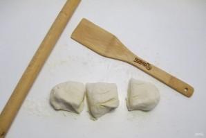 Китайские слоеные лепешки - фото шаг 3