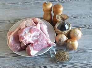 Шашлык из свинины без маринада - фото шаг 1
