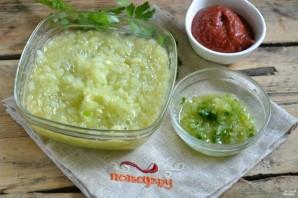 Аджика из кабачков с томатной пастой - фото шаг 2