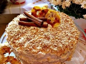 Торт с кремом из маскарпоне - фото шаг 9