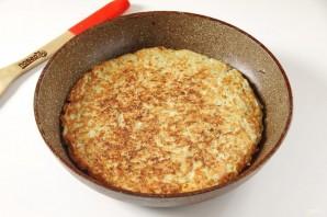 Картофельная запеканка на сковороде - фото шаг 6