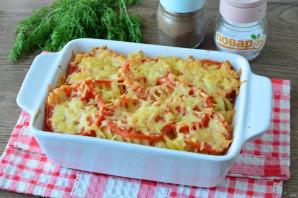 Запеканка из макарон с помидорами и сыром - фото шаг 9