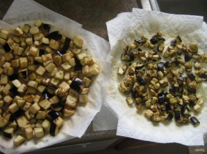 Пенне с баклажановым соусом - фото шаг 2