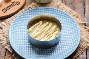 Овощной слоеный салат с майонезом - фото шаг 3