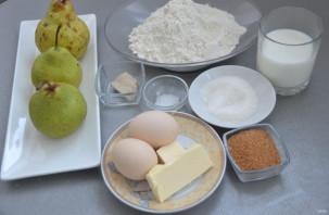 Дрожжевой пирог с грушами - фото шаг 1