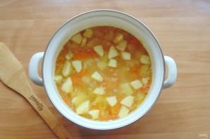 Гороховый суп с яблоками - фото шаг 7