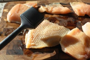 Куриные грудки с сыром в духовке - фото шаг 2