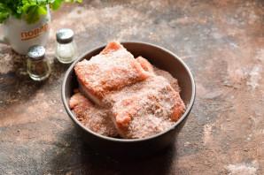 Соленое сало с красным перцем - фото шаг 6