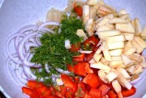 Маринованная капуста с маслом - фото шаг 4