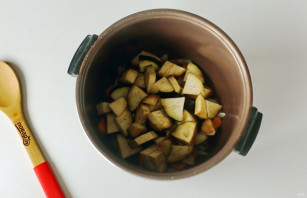 Кус-кус с овощами в мультиварке - фото шаг 3