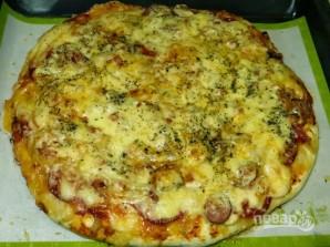 Вкусный рецепт пиццы - фото шаг 11