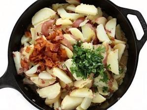 Деревенский картофельный салат - фото шаг 5