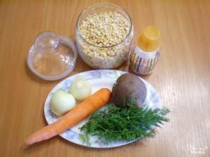 Вегетарианский гороховый суп в мультиварке - фото шаг 1