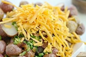 Салат из картофеля и бекона - фото шаг 4
