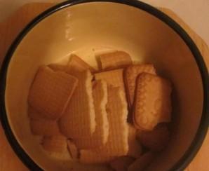"""Пирожное """"Шоколадная колбаска"""" - фото шаг 2"""