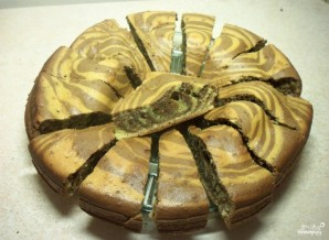 "Вкусный пирог ""Зебра"" - фото шаг 6"